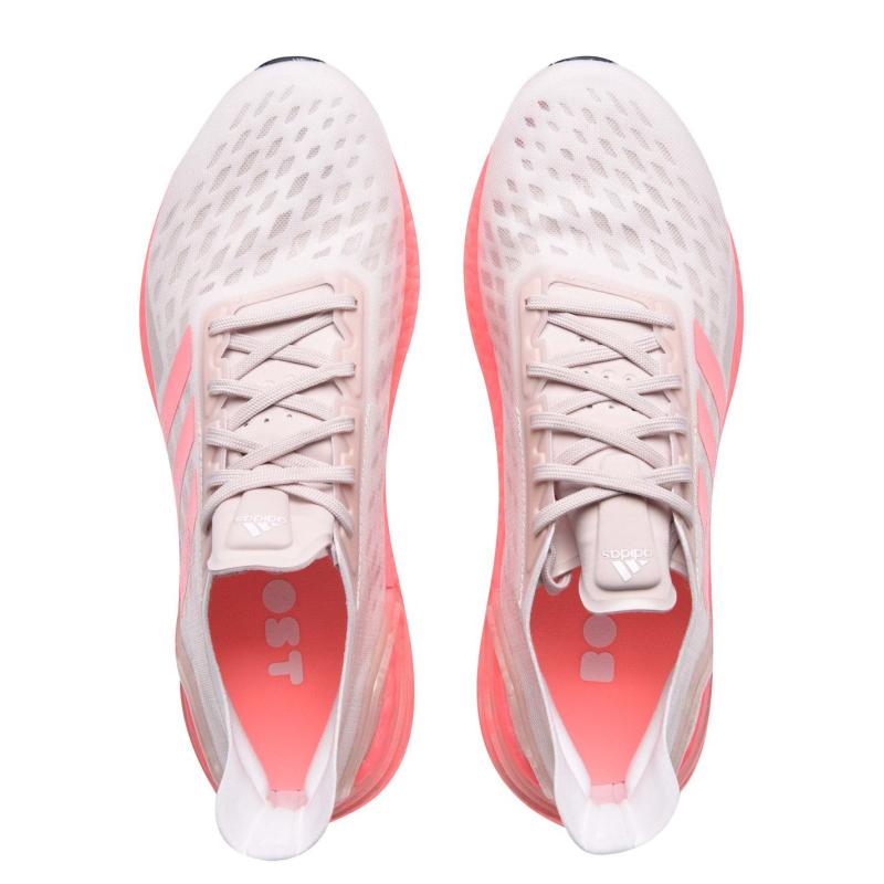 Adidas UltraBoost PB Running Shoes Ladies Pink/Grey