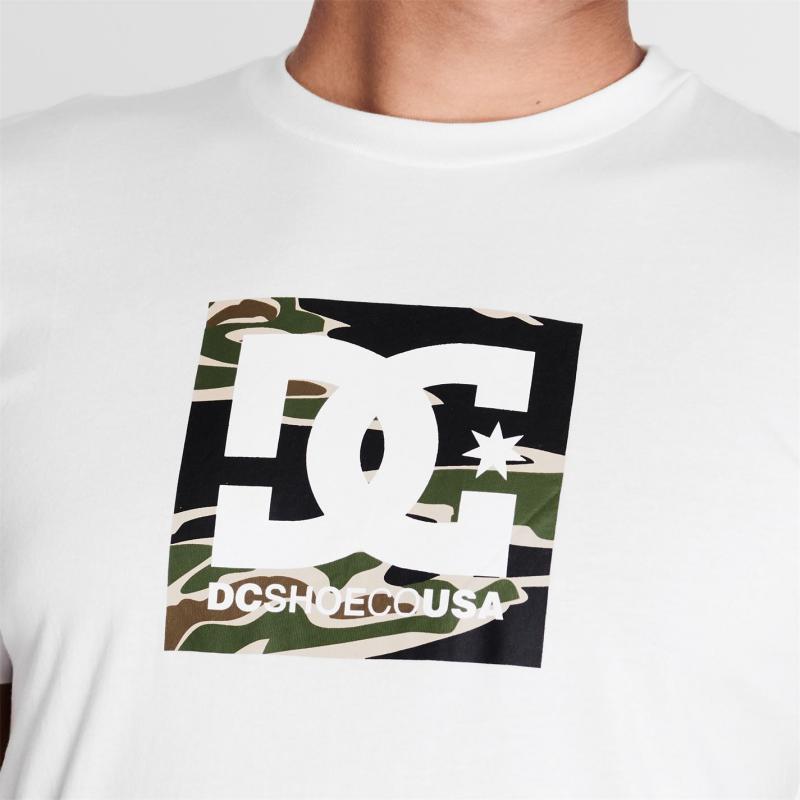 Tričko DC Star T Shirt Mens White XWWC