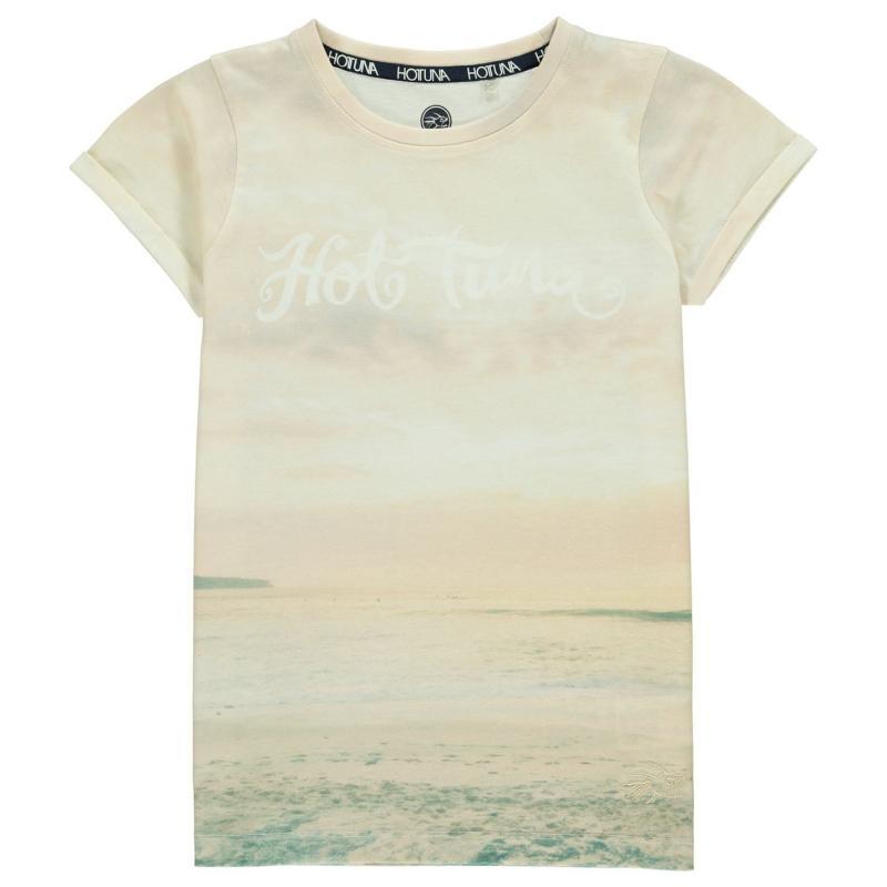 Hot Tuna Fun T Shirt Junior Girls Beach