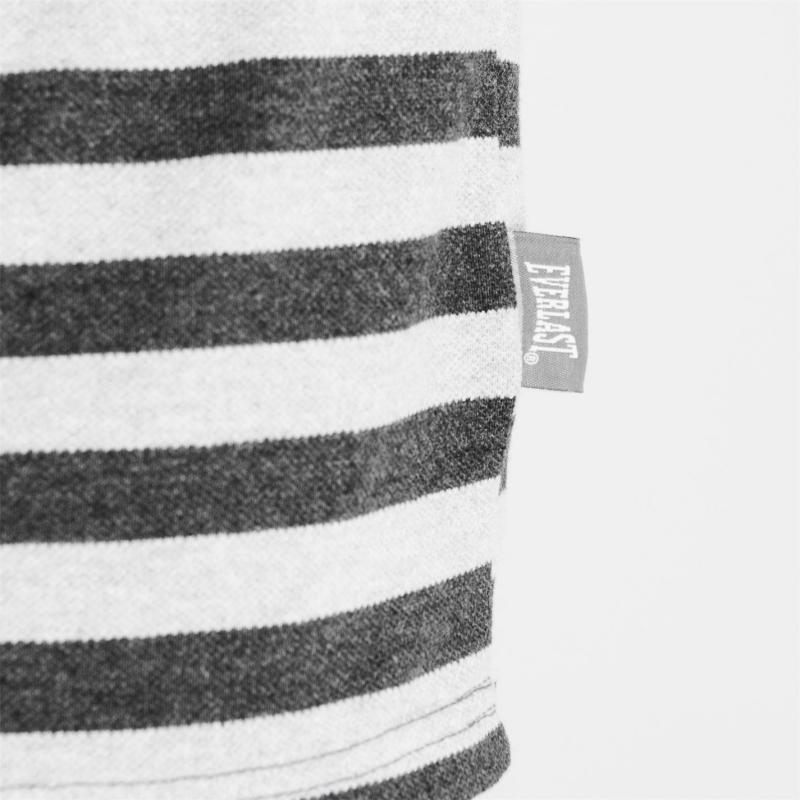 Everlast Pique Polo Shirt Mens Char M/Grey M