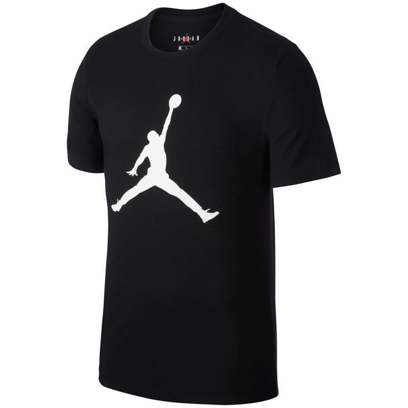 Tričko Nike Jumpman Men's T-Shirt BLACK/WHITE