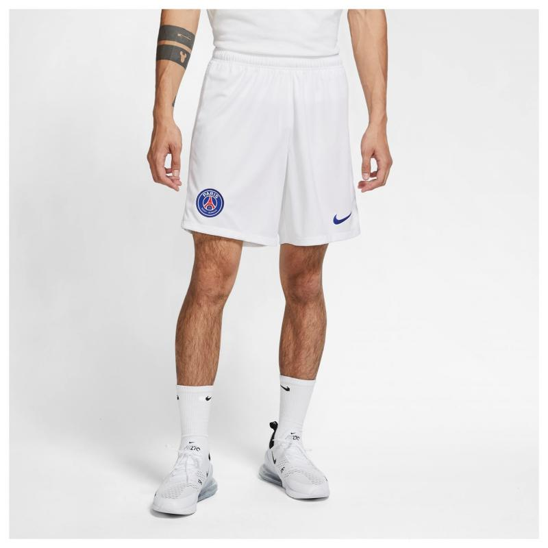 Nike Paris Saint Germain Away Shorts 2020 2021 White