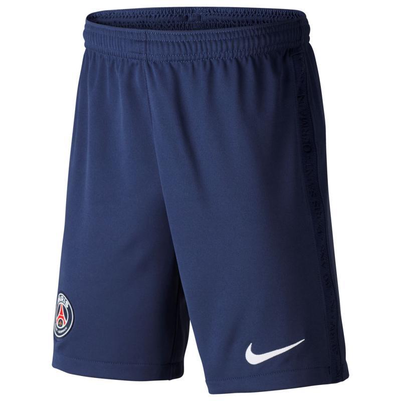 Nike Paris Saint Germain Home Shorts 2020 2021 Junior Navy