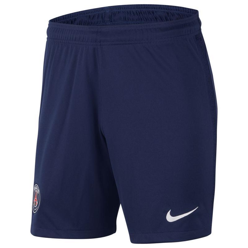 Nike Paris Saint Germain Home Shorts 2020 2021 Navy