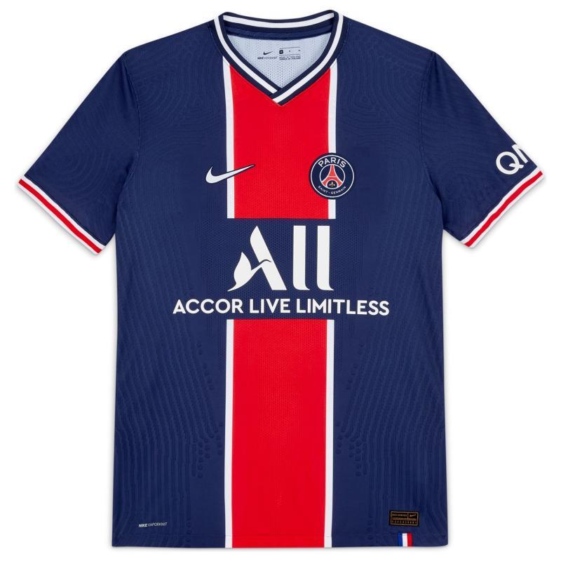 Nike Paris Saint Germain Vapor Home Shirt 2020 2021 MIDNIGHT NAVY/WHITE