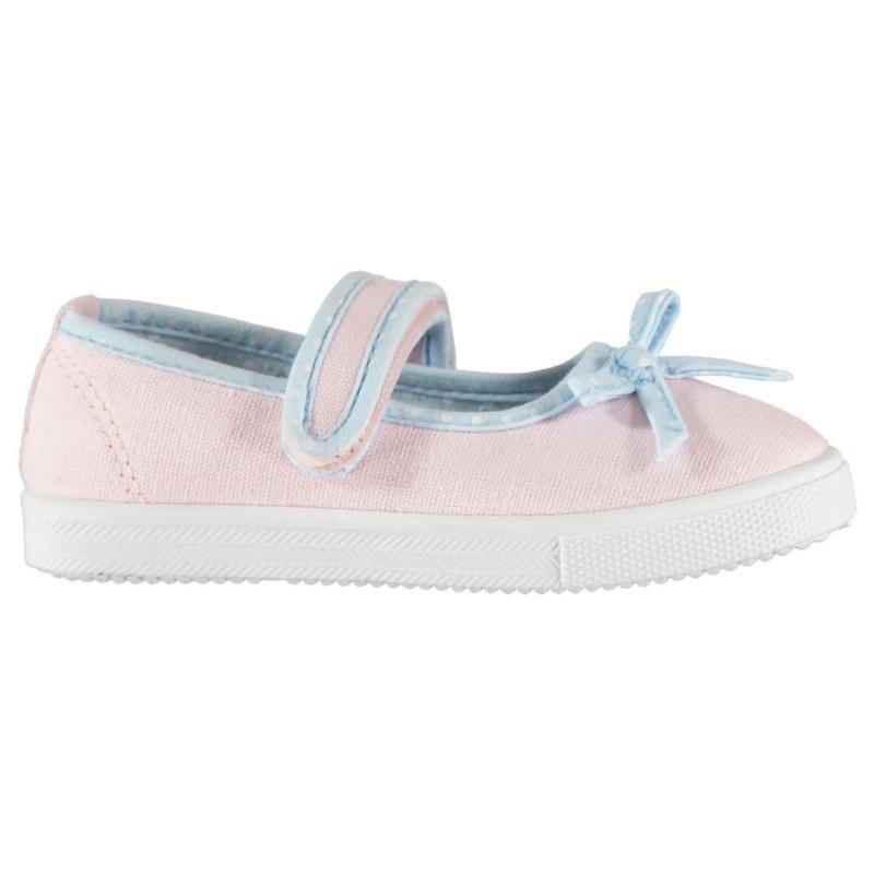 Slazenger Aomori Ballet Pumps Infant Girls Pink/Blue