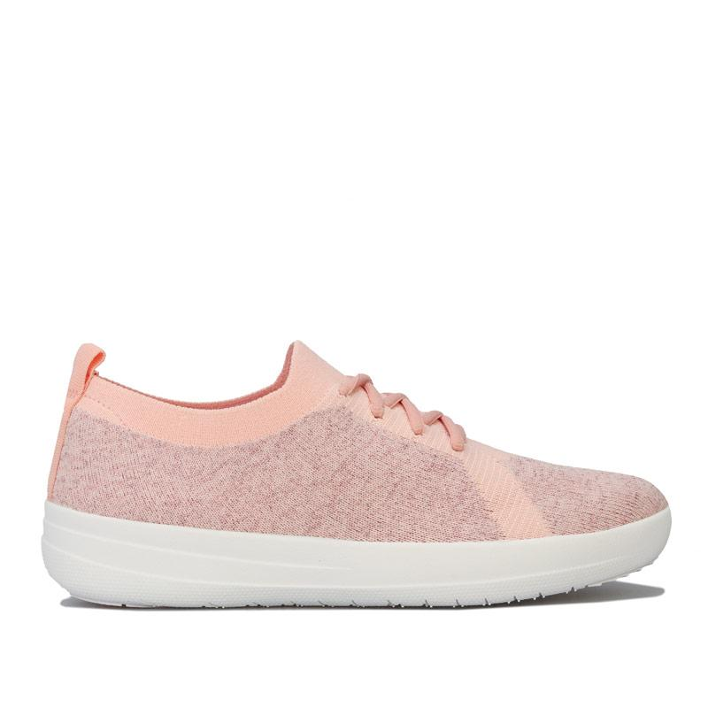 Fit Flop Womens F-Sporty Uberknit Trainers Pink