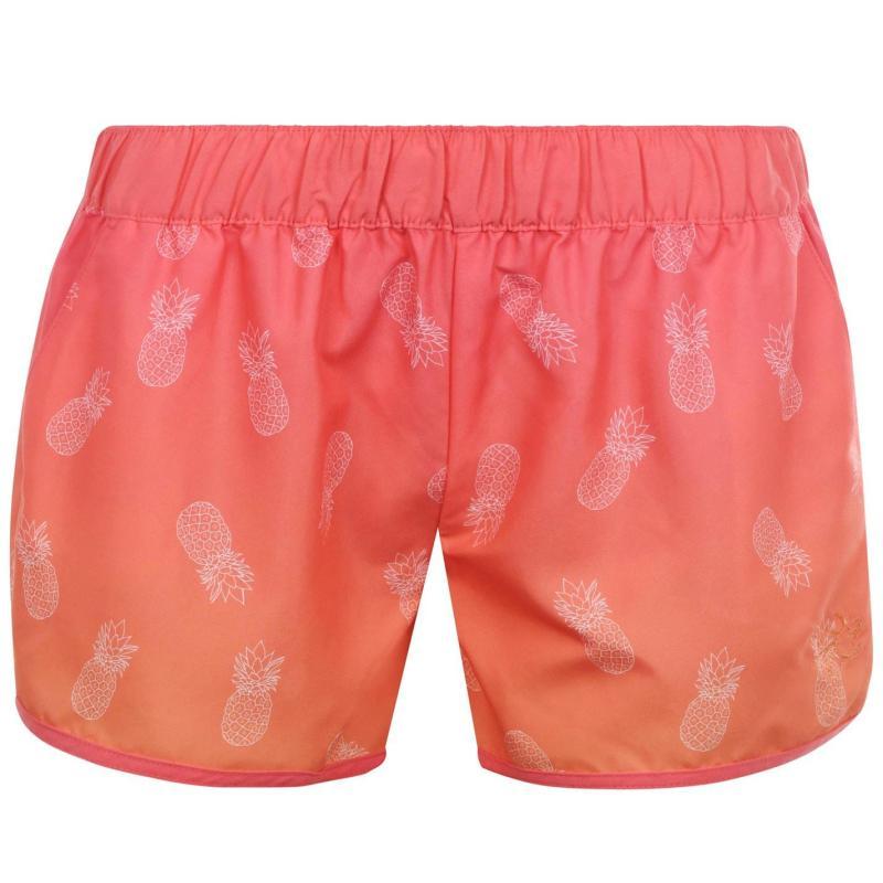 Hot Tuna Swim Shorts Ladies Pineapple