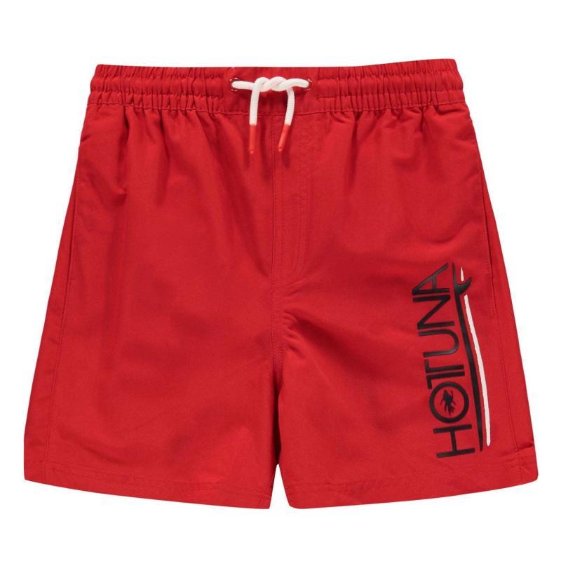 Plavky Hot Tuna Swim Shorts Junior Boys Red