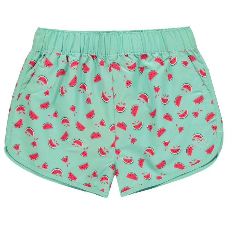 Hot Tuna Tuna Swim Shorts Junior Girls Watermelon