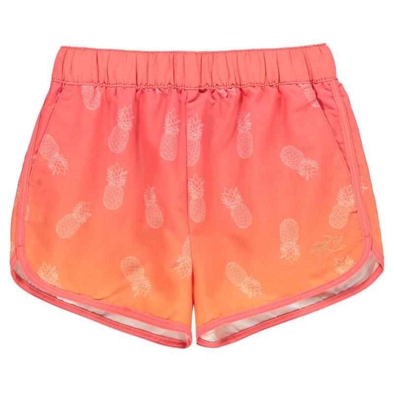 Hot Tuna Tuna Swim Shorts Junior Girls Pineapple