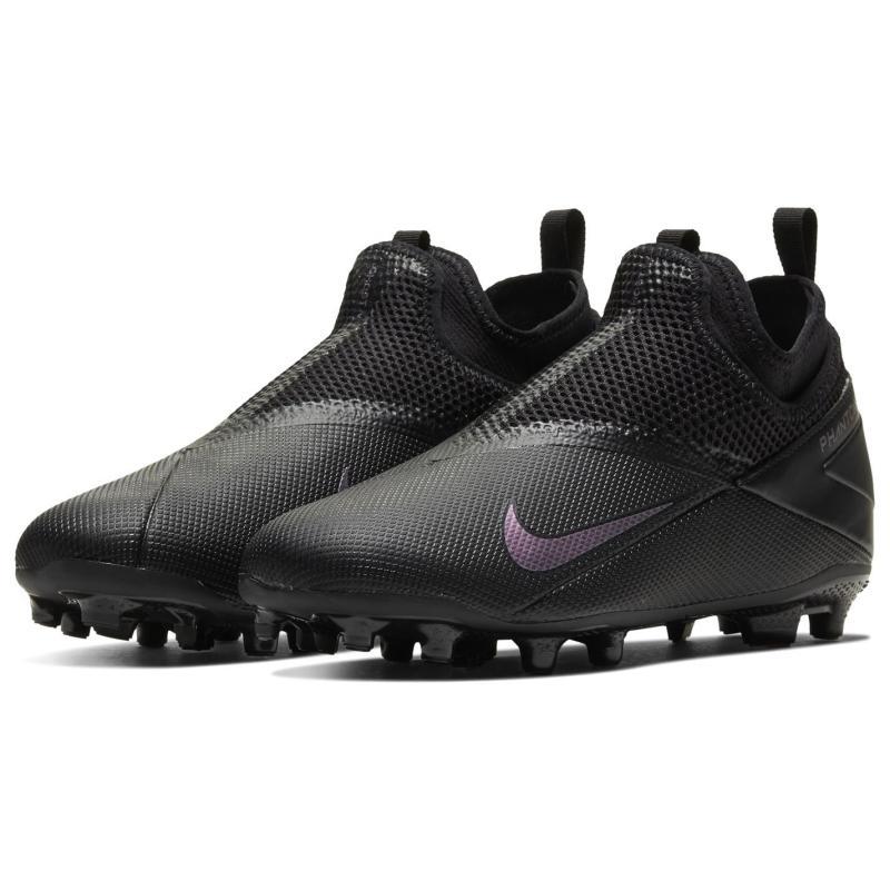 Nike Phantom VSN Academy Firm Ground Football Boots Juniors Black