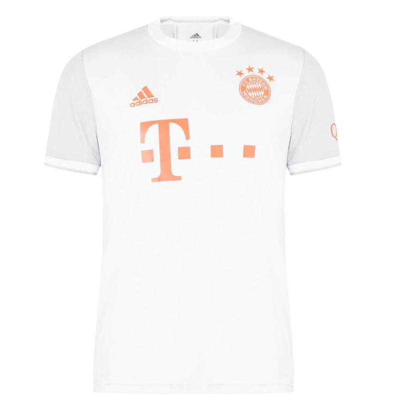 Adidas Bayern Munich Away Shirt 2020 2021 Grey
