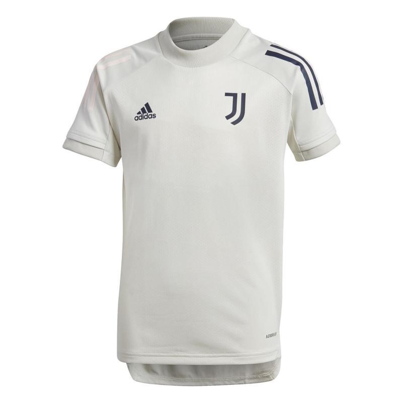 Adidas Juventus Training Top 2020 2021 Junior Grey