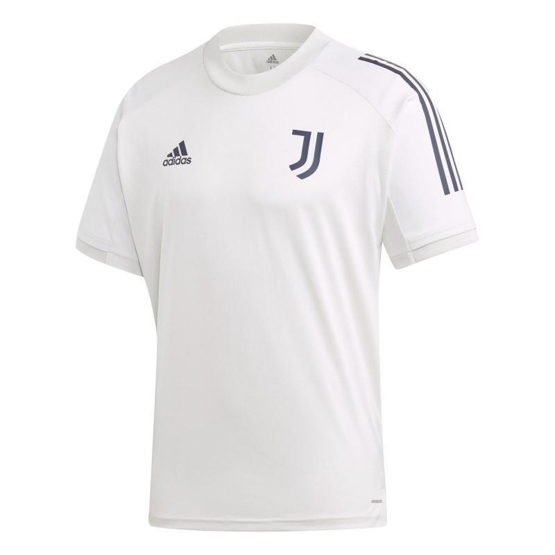 Adidas Juventus Training Top 2020 2021 Mens Grey