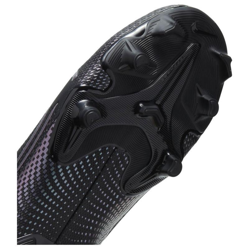 Nike Vapour 13 Academy Firm Ground Football Boots Juniors Black/Black