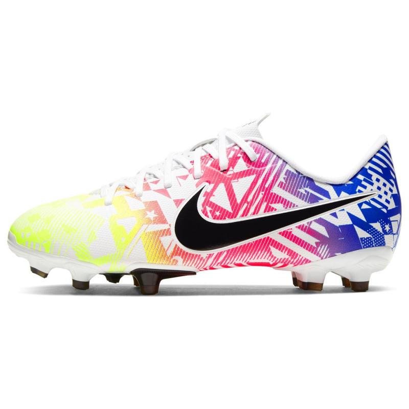Nike Vapour 13 Firm Ground Football Boots Juniors White/Black