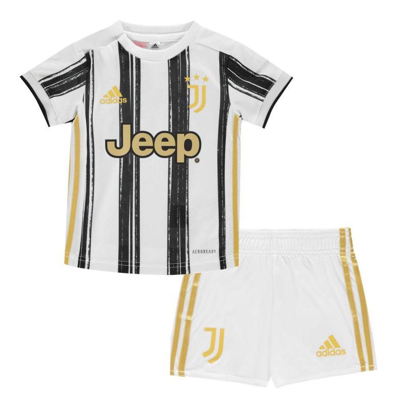 Adidas Juventus Home Baby Kit 2020 2021 White/Black