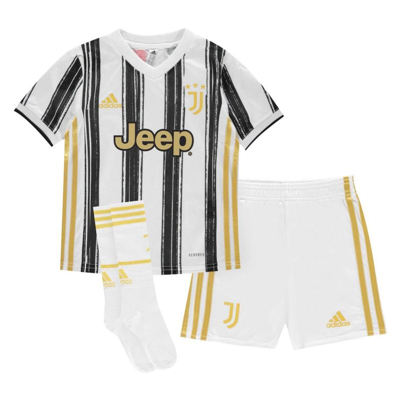 Adidas Juventus Home Mini Kit 2020 2021 White/Black