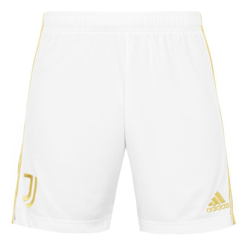 Adidas Juventus Home Shorts 2020 2021 White