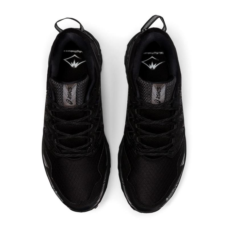 Asics Gel-Fujitrabuco 8 GTX Mens Running Shoes Black/Black