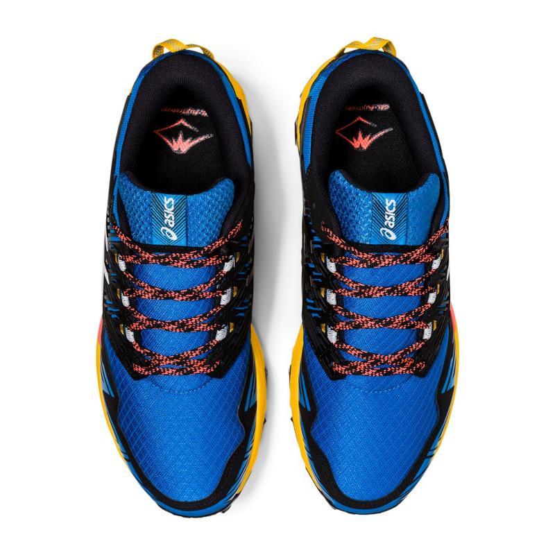 Asics Gel-Fujitrabuco 8 Mens Running Shoes Blue/White