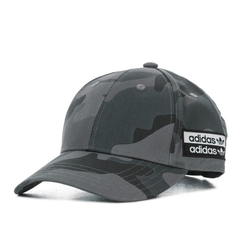 Adidas Originals Camo Baseball Cap Grey