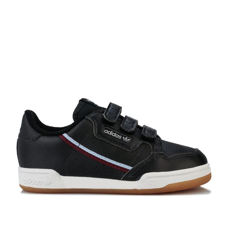 Boty Adidas Originals Infant Boys Continental 80 Trainers Black