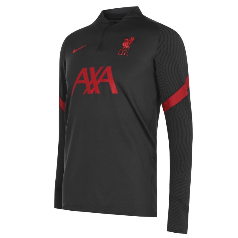 Nike Liverpool Strike Drill Top 2020 2021 Mens ANTHRACITE/GYM RED