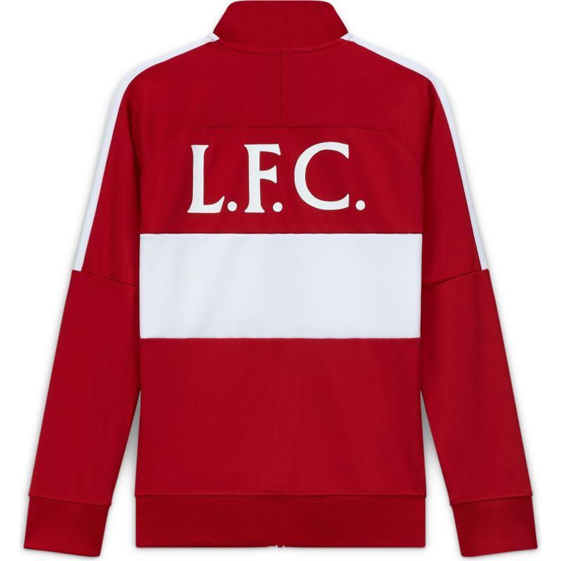 Nike Liverpool Track Jacket 2020 2021 Junior GYM RED/WHITE/WHITE