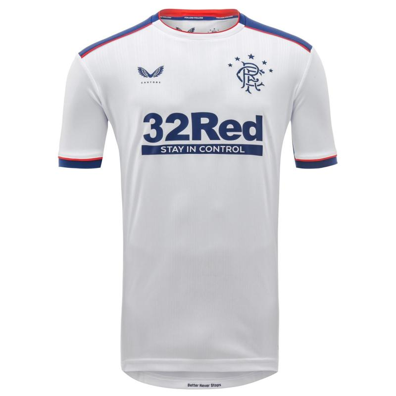 Castore Rangers Away Shirt 2020 2021 White
