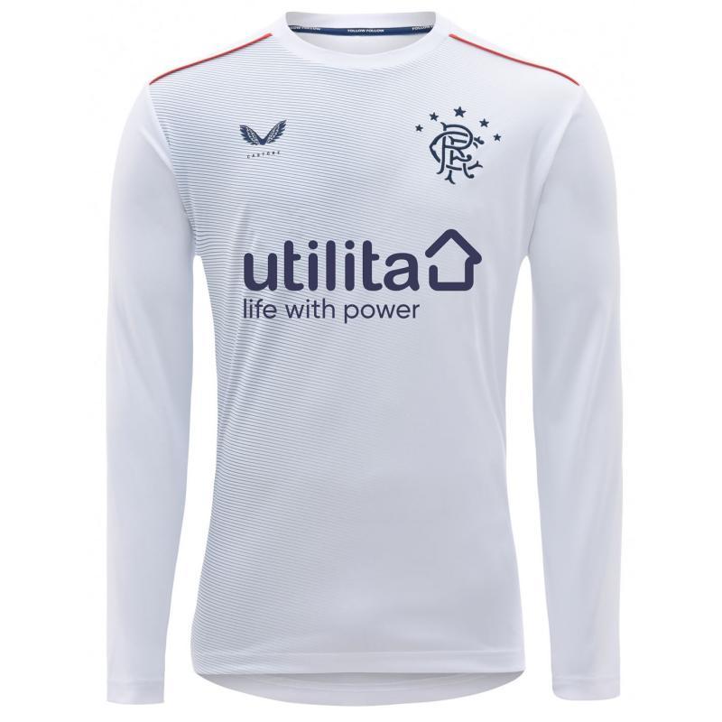Tílko Castore Rangers Home Goalkeeper Shirt 2020 2021 Junior White