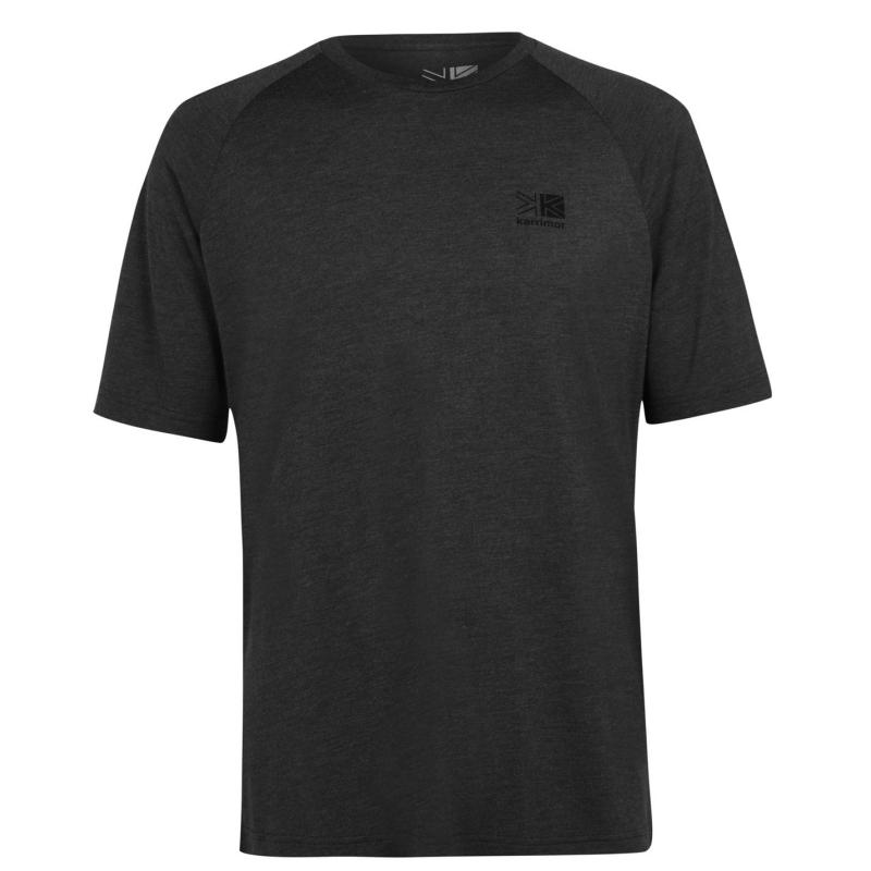 Karrimor Hot Rock Short Sleeve T Shirt Mens Charcoal Marl