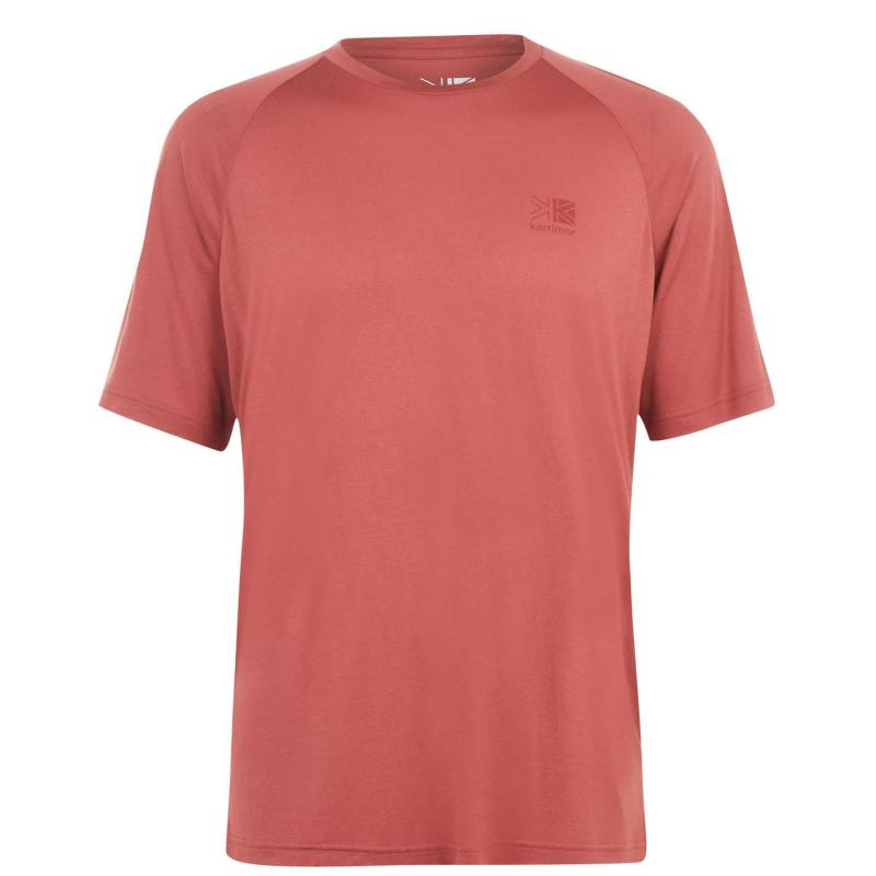 Karrimor Hot Rock Short Sleeve T Shirt Mens Rust
