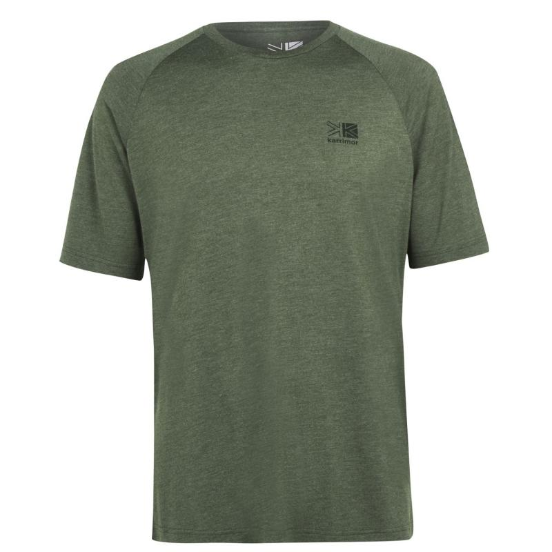 Karrimor Hot Rock Short Sleeve T Shirt Mens Olive Marl