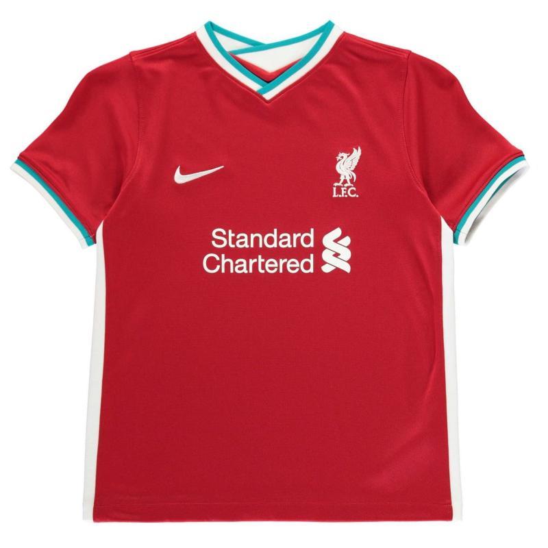 Nike Liverpool Home Mini Kit 2020 2021 GYM RED/WHITE
