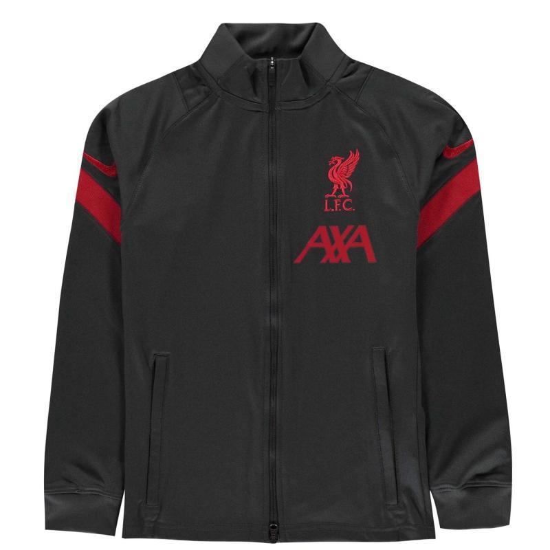 Tepláky Nike Liverpool Strike Tracksuit 2020 2021 Junior ANTHRACITE/GYM RED/GYM RED