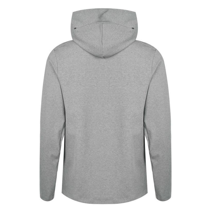 Nike Liverpool Tech Pack Hoodie 2020 2021 Mens DK GREY HEATHER/BLACK