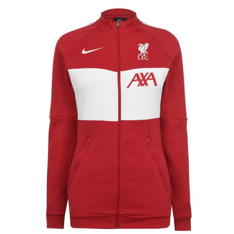 Nike Liverpool Track Jacket 2020 2021 Ladies GYM RED/WHITE/WHITE