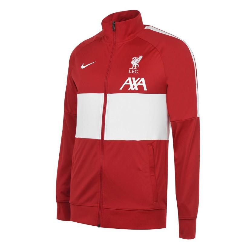 Nike Liverpool Track Jacket 2020 2021 Mens GYM RED/WHITE/WHITE