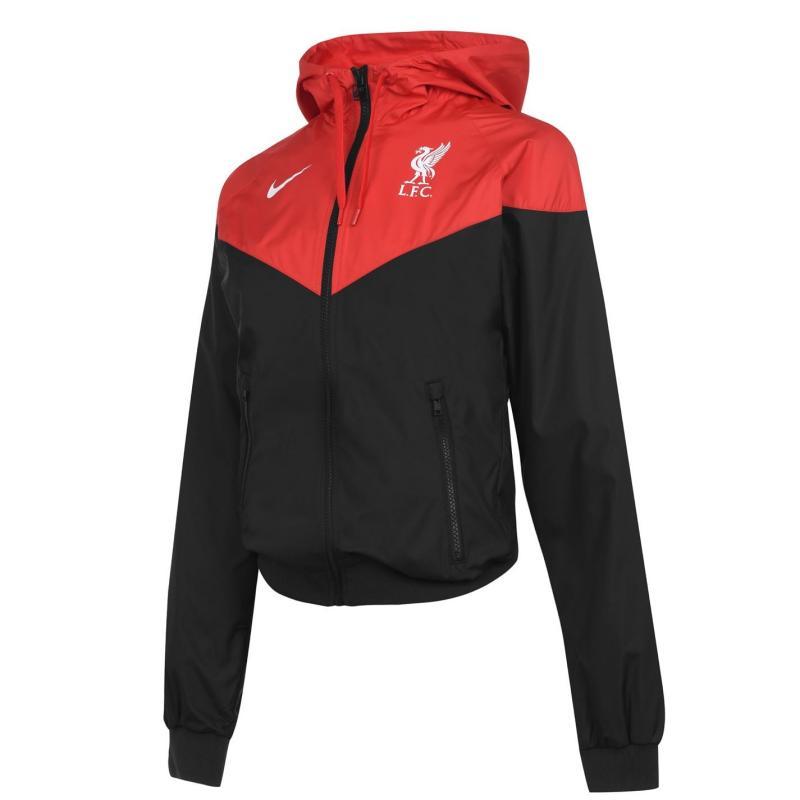 Nike Liverpool Windrunner Ladies BLACK/UNIVERSITY RED/WHITE