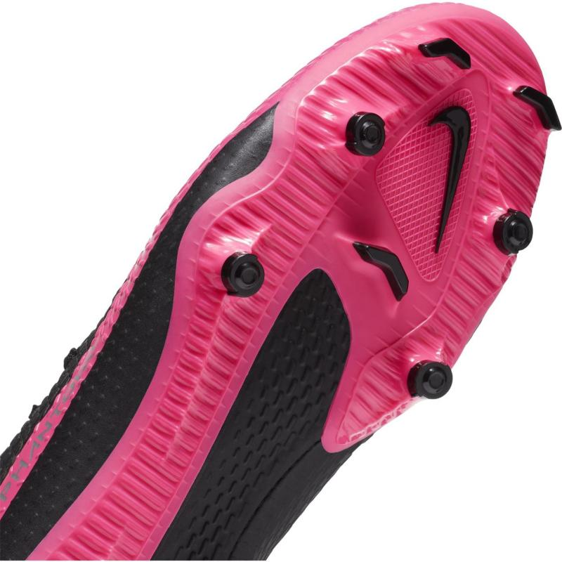 Nike Phantom GT Academy FG Football Boots BLACK/METALLIC SILVER-PINK BLA