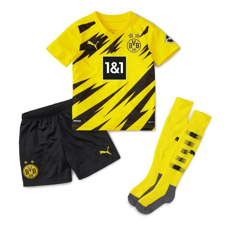 Puma Borussia Dortmund Home Mini Kit 2020 2021 Yellow/Black