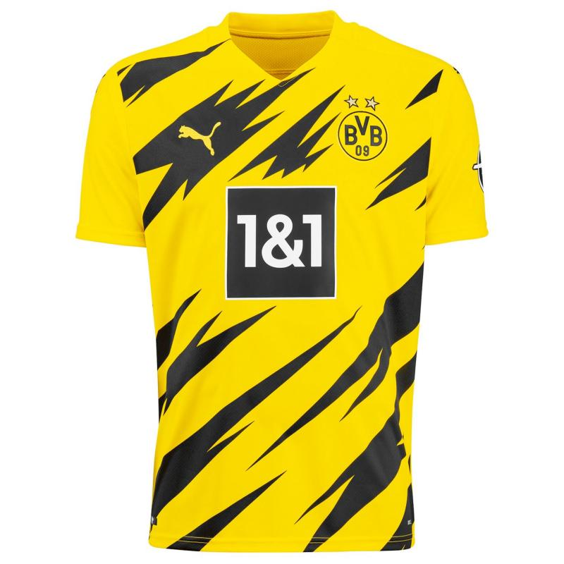 Puma Borussia Dortmund Home Shirt 2020 2021 Yellow/Black