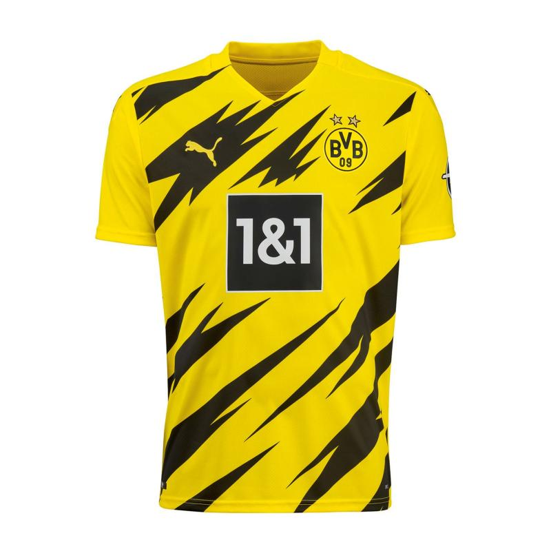 Puma Borussia Dortmund Home Shirt 2020 2021 Junior Yellow/Black