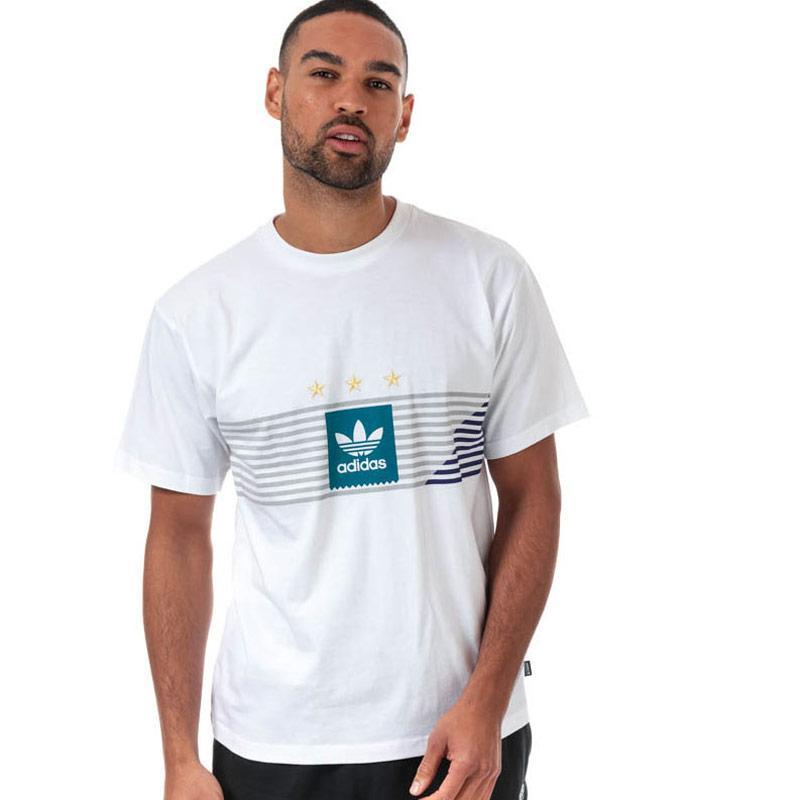 Tričko Adidas Originals Mens Campeonato T-Shirt White