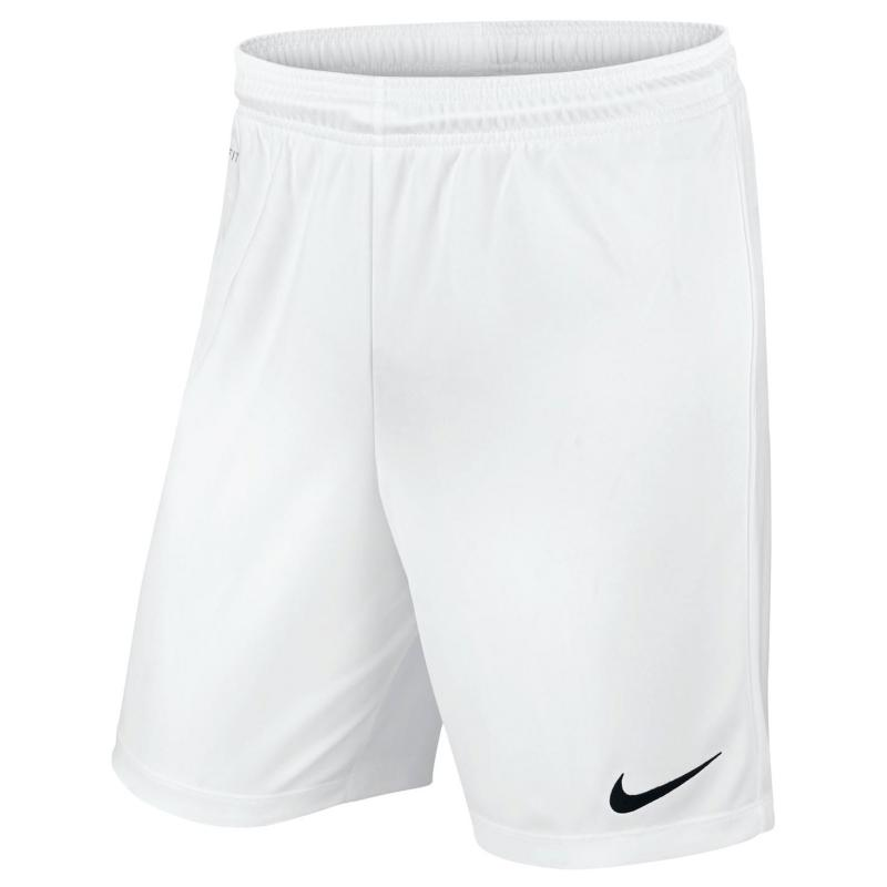 Nike Park II Knit Shorts Mens White/Black