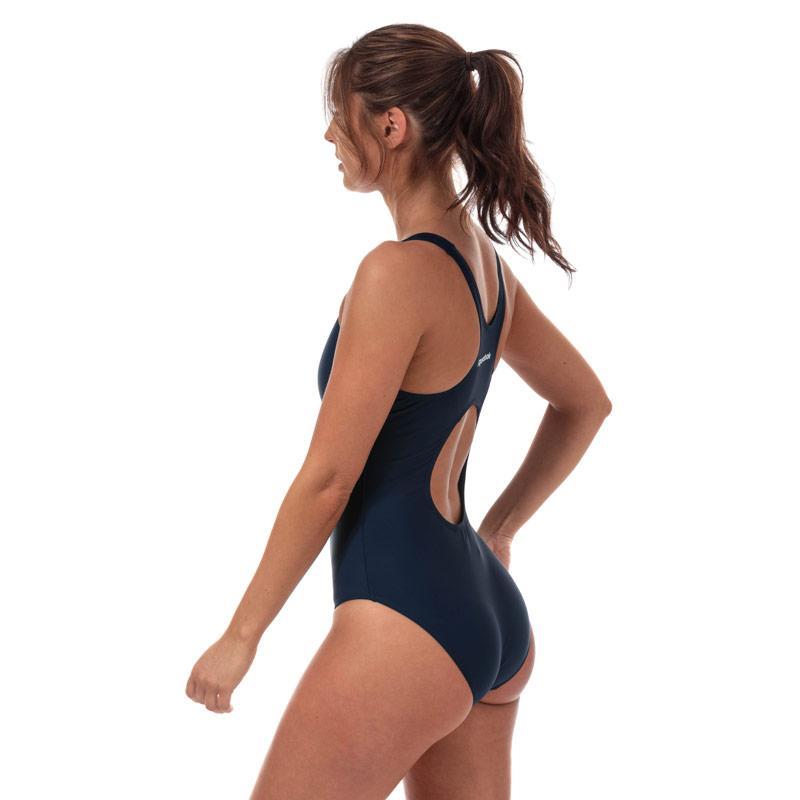 Plavky Reebok Womens Adelia Swimsuit Navy