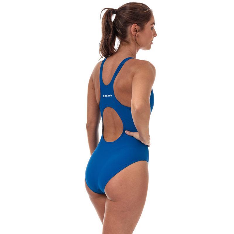 Plavky Reebok Womens Adelia Swimsuit Blue