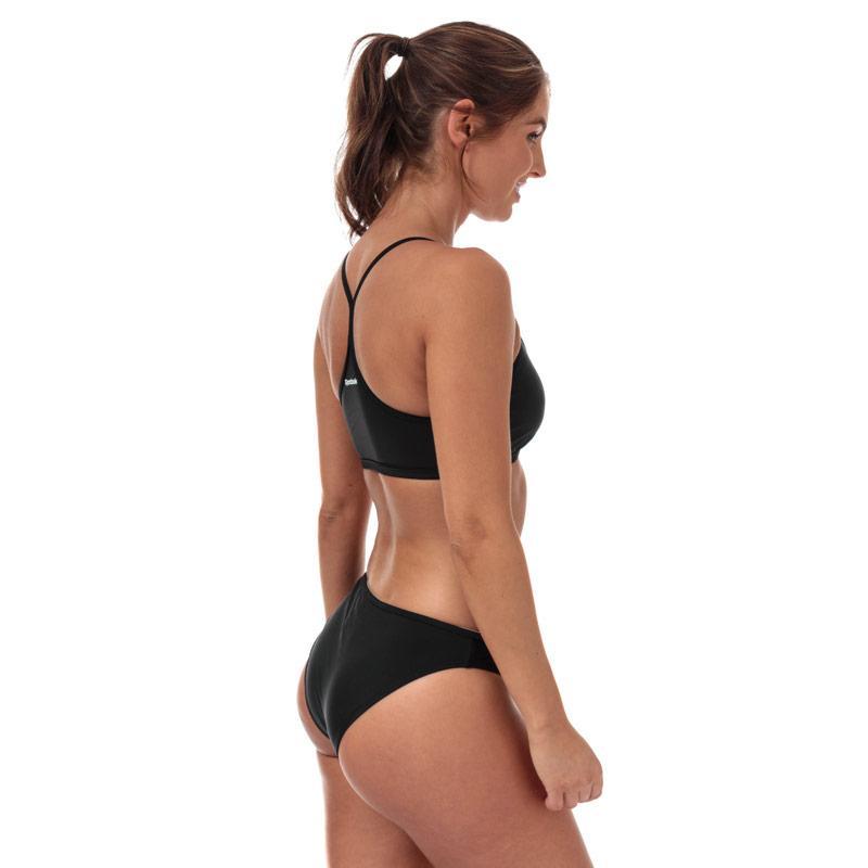 Plavky Reebok Womens Alanna Bikini Black-White